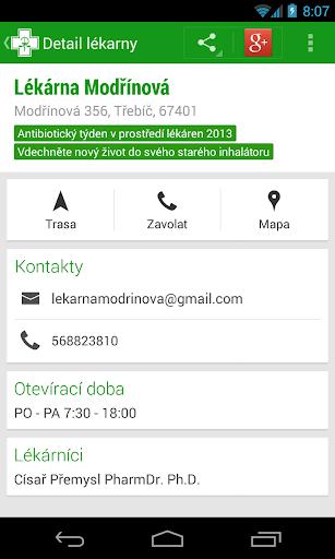 玩免費醫療APP|下載Czech Pharmacies app不用錢|硬是要APP