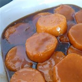 Candied Sweet Potatoes.