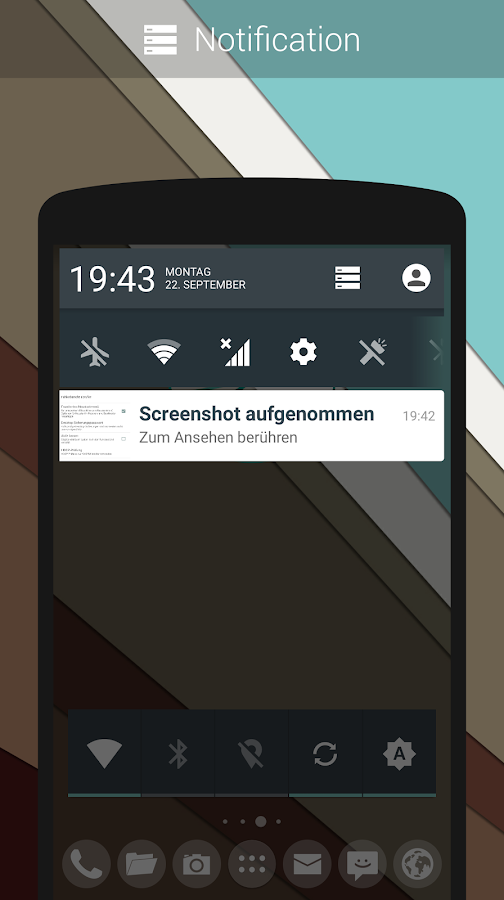 CM11/PA Theme - Android L- screenshot