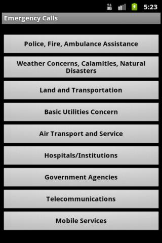 Emergency Calls in Philippines