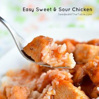 Easy 3-Ingredient Sweet & Sour Chicken [Slow Cooker Recipe] + 5K Ramblings
