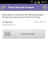 Picard Barcode Scanner- screenshot thumbnail