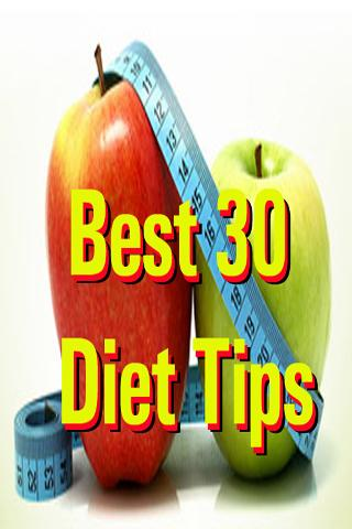 Best 30 Diet Tips Ebook