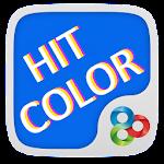 Hit Colour GO Launcher Theme v1.0