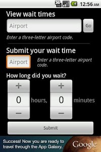Airport Security Timer screenshot 1