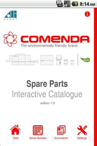 Comenda Spare Parts