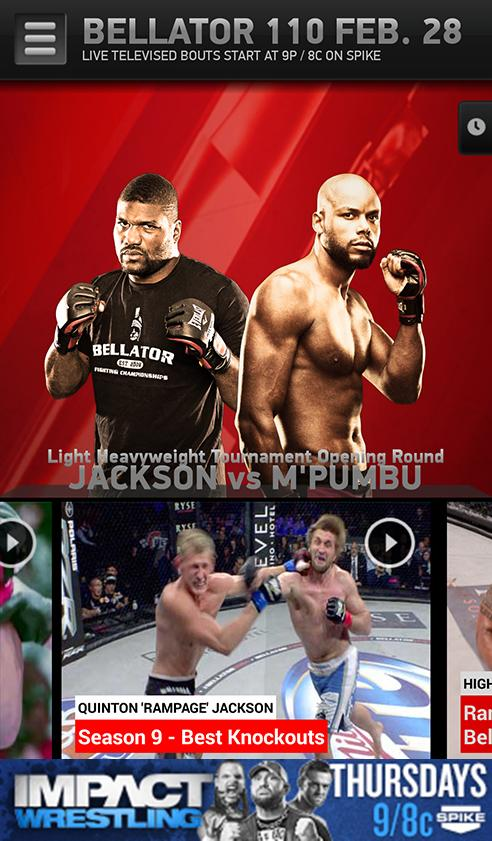 Bellator MMA - screenshot