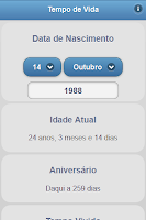 Screenshot of Tempo de Vida