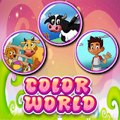 Coloring Games - Color World