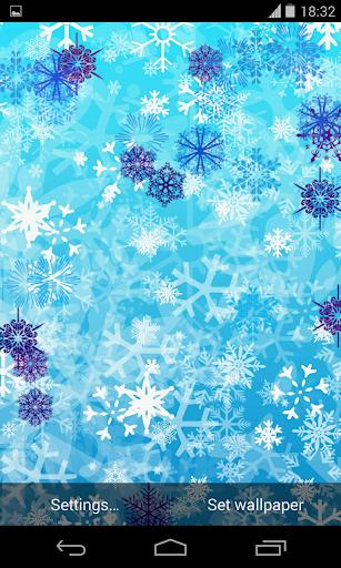 Falling Snowflakes LWP