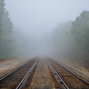 by Anthony Allred - Transportation Railway Tracks (  )