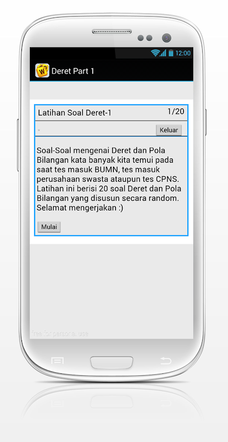 Soal Cpns Bumn Plus Psikologi Android Apps On Google Play