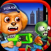 Little Puppy Hero - Zombie Run