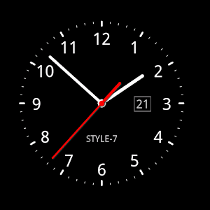 Analog Clock TonzymwsykmwDoLYP7CX