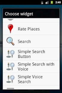 Simple Search Widgets- screenshot thumbnail