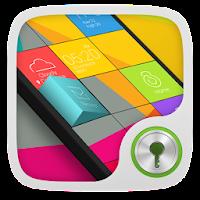 Cube GO Locker Theme 1.1