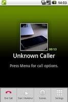 Screenshot of CallCam Lite