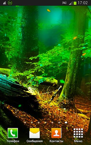 Русский Лес 3D Живые Обои