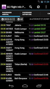 Singapore Flight Info Pro - screenshot thumbnail