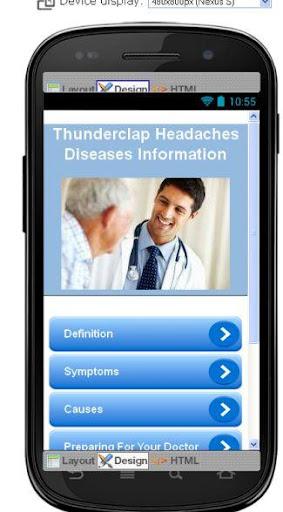 Thunderclap Headaches Disease