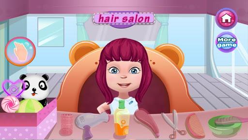 美髮沙龍女孩遊戲