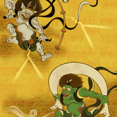 Live Wallpaper Fujin & Raijin