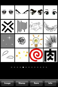 MANGA Stamps 200! screenshot 1