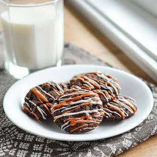 Two-Bite Nutella Chocolate Cookies.