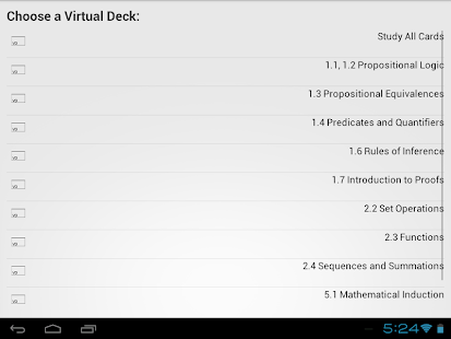 VirtualDeck Flashcards Free - screenshot thumbnail
