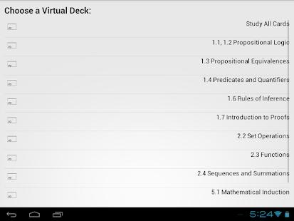 VirtualDeck Flashcards Free - screenshot thumbnail