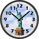 Statue of Liberty Day Clock icon