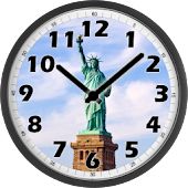 Statue of Liberty Day Clock