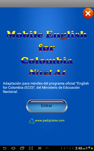 Mobile English for Colombia
