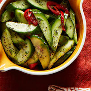 Cucumber & Poppy Seed Salad