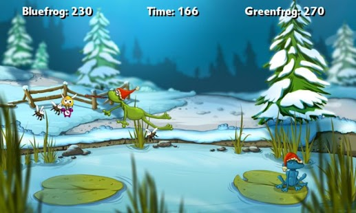 A Frog Game Winter- screenshot thumbnail