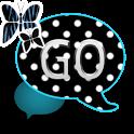 GO SMS THEME/BluePolkaDot icon