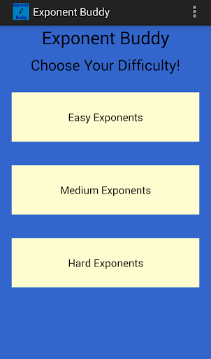 Exponent Buddy