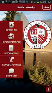 Seattle University SafeHawk - screenshot thumbnail