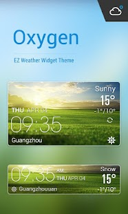 Samsung Galaxy Weather Widget - Weather app for Android