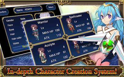 SRPG Legend of Ixtona APK screenshot thumbnail 7