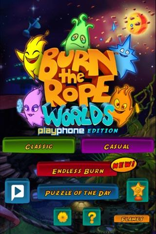 Burn the Rope:Worlds & Friends - screenshot