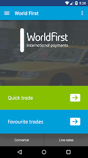 World First Money Transfer- screenshot thumbnail