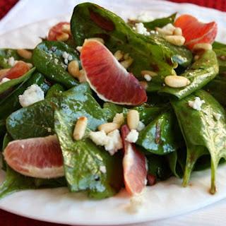 Blood Orange Spinach Salad