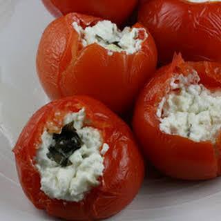 CrockPot Stuffed Tomatoes.
