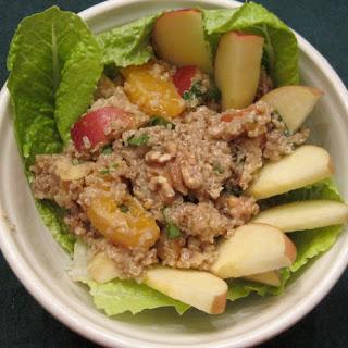 Crispy, Crunchy, Apple-quinoa Salad