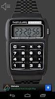 Screenshot of Calculator Watch