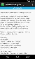 Screenshot of Mit Festival Program