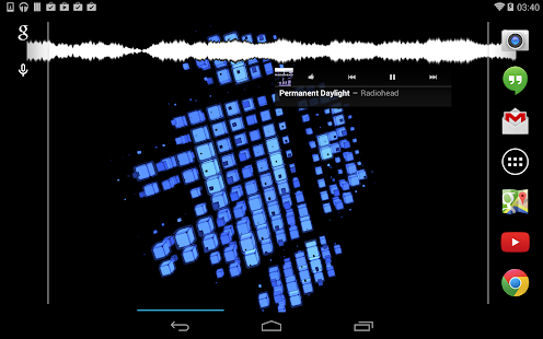 Cubic Patterns LWP Lite - screenshot thumbnail