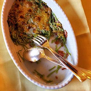 Tagliolini GratinéEd with Prosciutto and Parmigiano-Reggiano Recipe