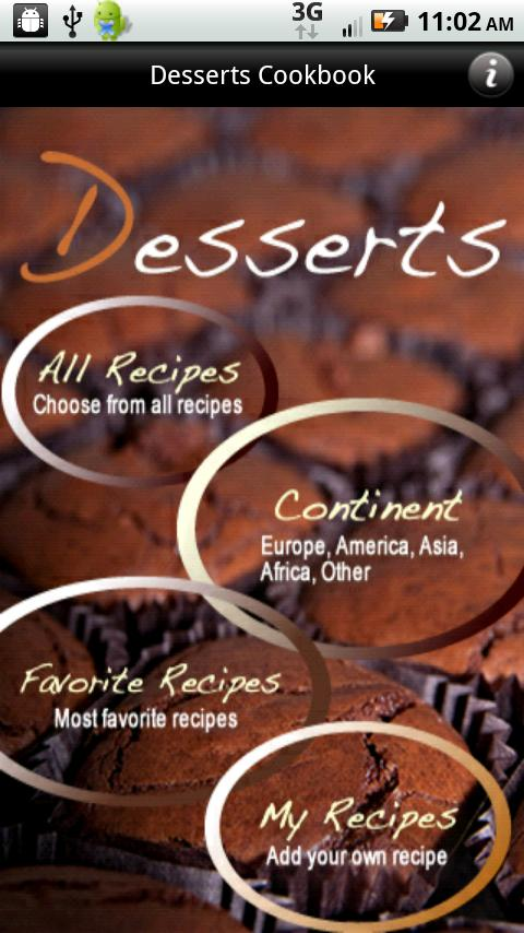 iCooking Desserts - screenshot